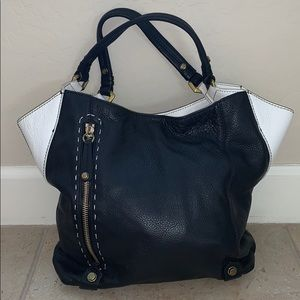 orYANY Aquarius Black and White Shoulder Bag